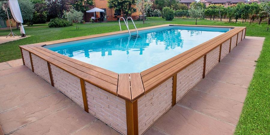 Modello di piscina fuori terra di Technypools