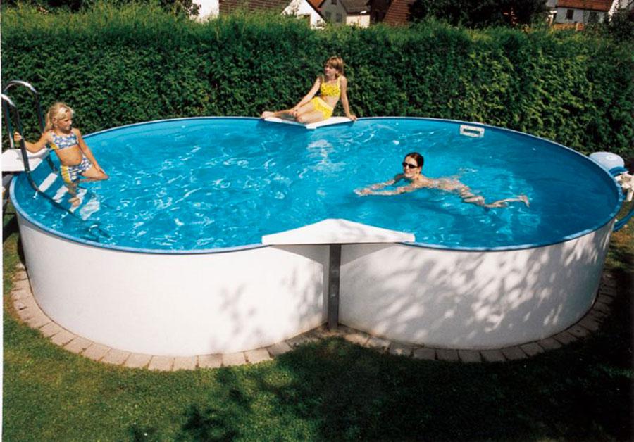 Le 20 migliori marche di piscine fuori terra - Piscine in acciaio fuori terra ...