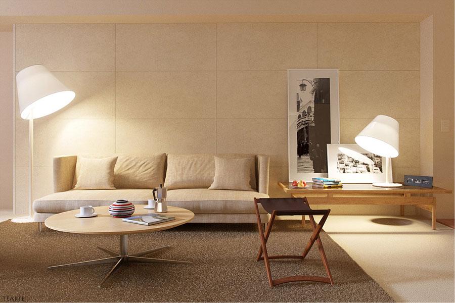 60 idee per colori di pareti del soggiorno for Colori per la sala