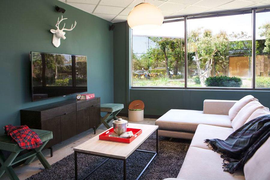 Idee per colori di pareti del soggiorno mondodesign