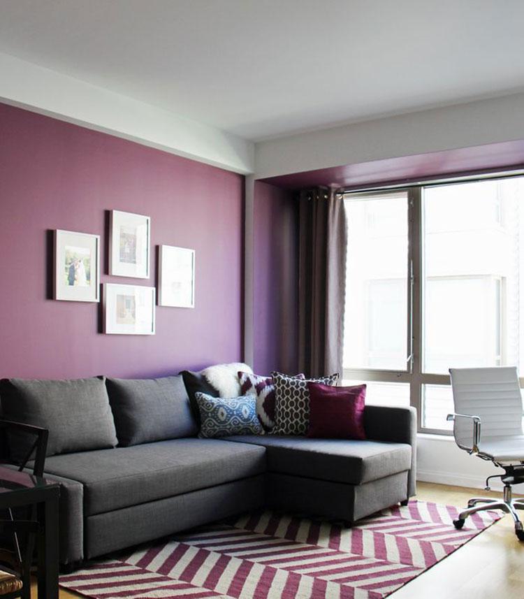 60 Idee per Colori di Pareti del Soggiorno  MondoDesign.it