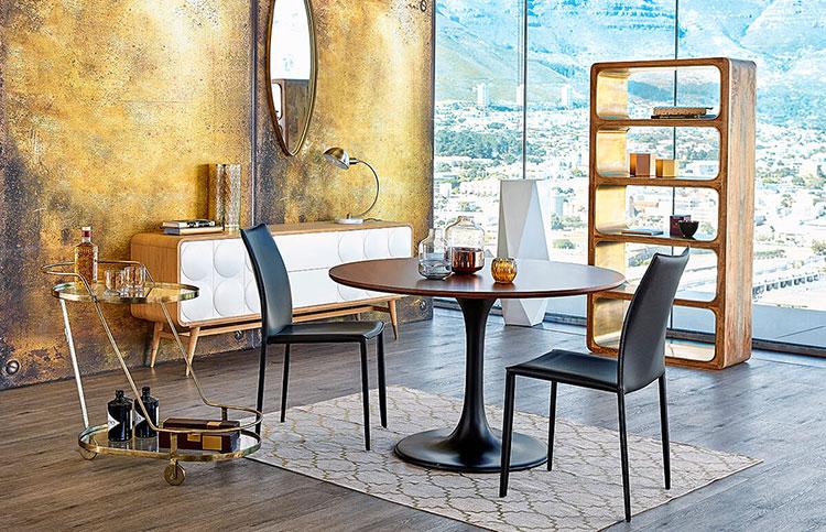 soggiorno vintage tante idee di arredamento in stile. Black Bedroom Furniture Sets. Home Design Ideas