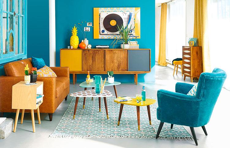 Arredamento per soggiorno vintage di Maison Du Monde n.06