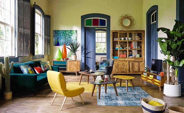 Arredamento per soggiorno vintage di Maison Du Monde n.13