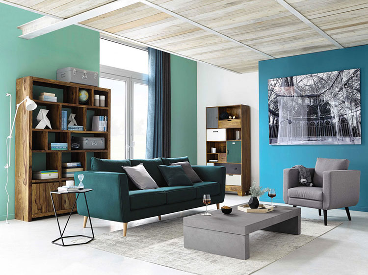 Arredamento per soggiorno vintage di Maison Du Monde n.16
