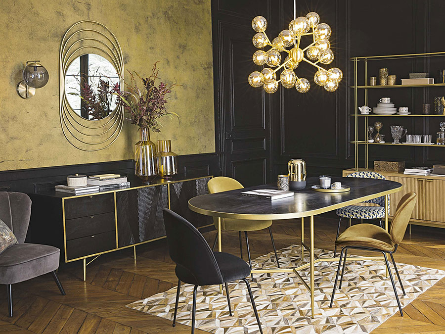 Arredamento per soggiorno vintage di Maison Du Monde n.20