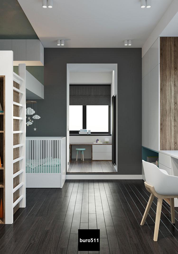 Come arredare una casa di 100 mq ecco 7 progetti a cui for Progetti di casa sollevati