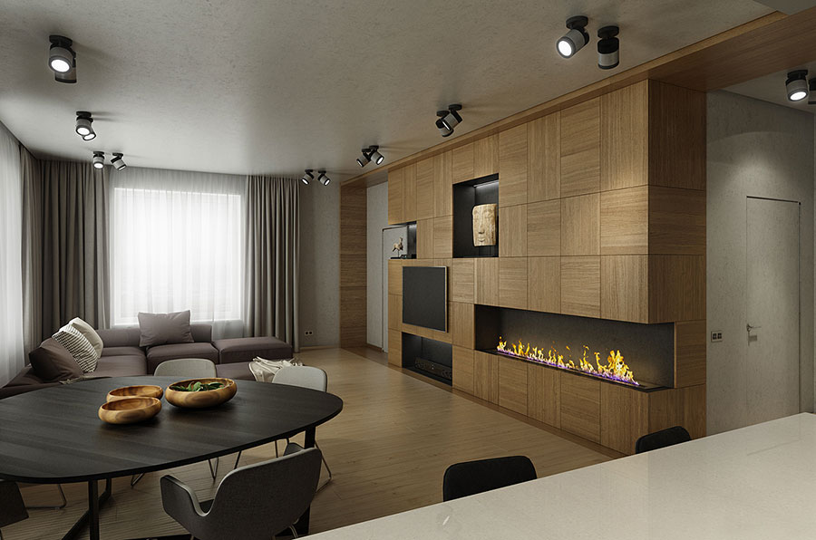 Come arredare una casa di 100 mq ecco 7 progetti a cui for Arredamento per interni