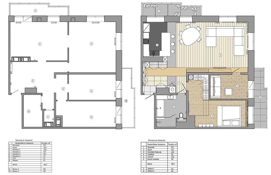 Idee per arredare una casa di 100 mq n.20