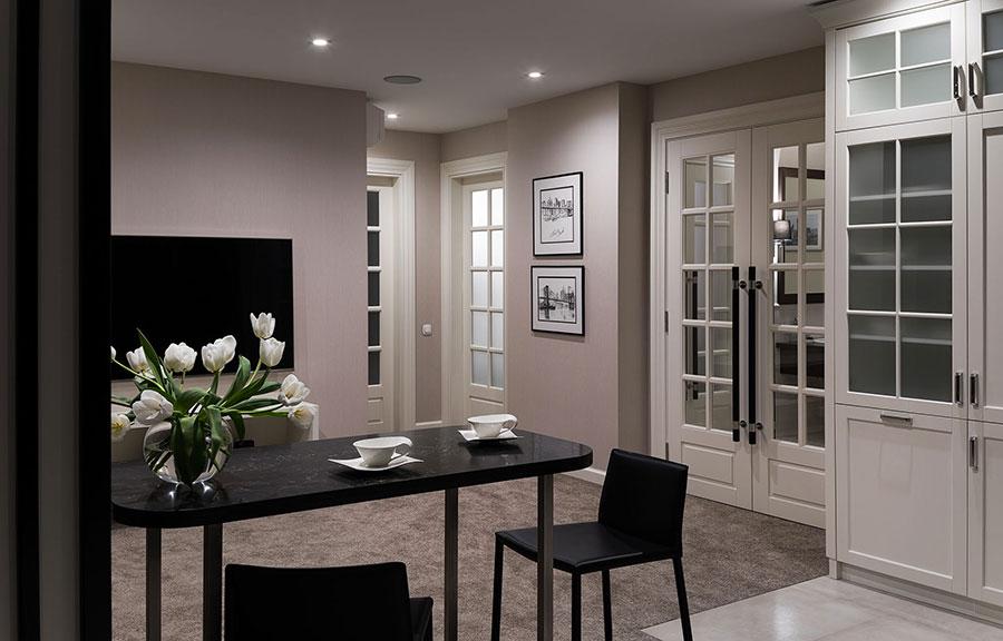 Progetto casa 100 mq id es de design d 39 int rieur - Come dividere casa 100 mq ...