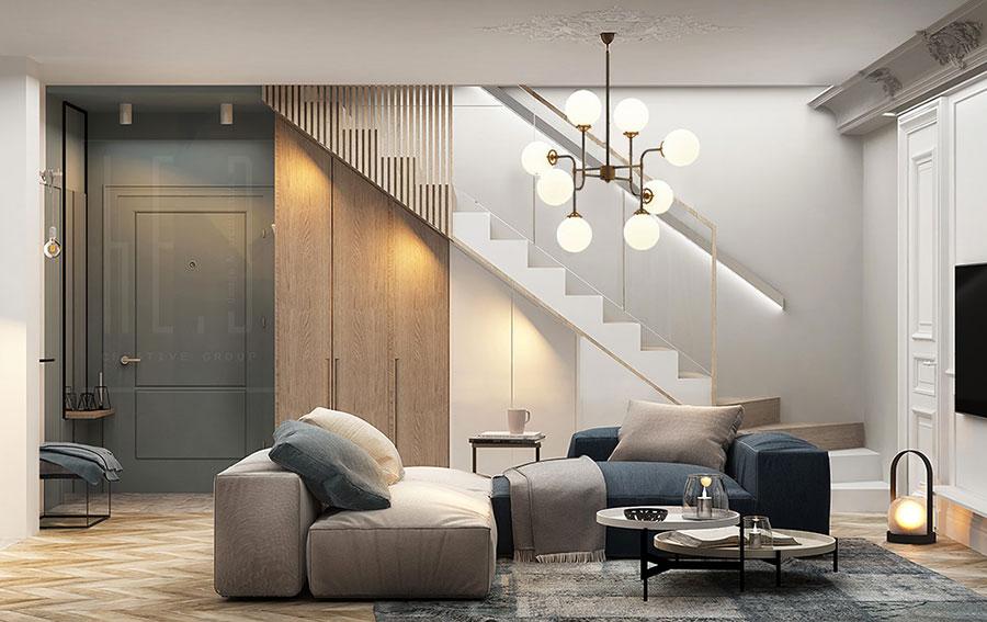 Come arredare una casa di 100 mq ecco 7 progetti a cui for Casa 50 mq ikea
