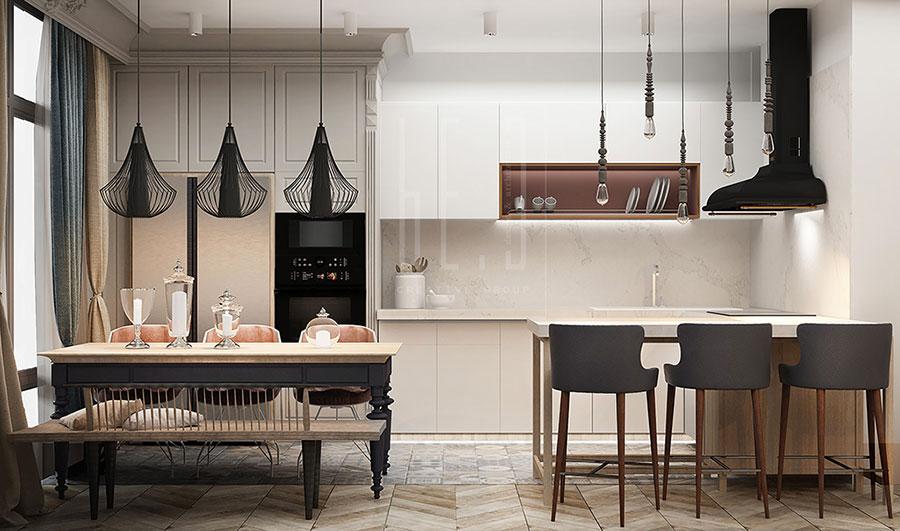 Come arredare una casa di 100 mq ecco 7 progetti a cui for Frank lloyd wright style piani per la casa