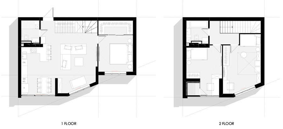 Idee per arredare una casa di 100 mq n.57