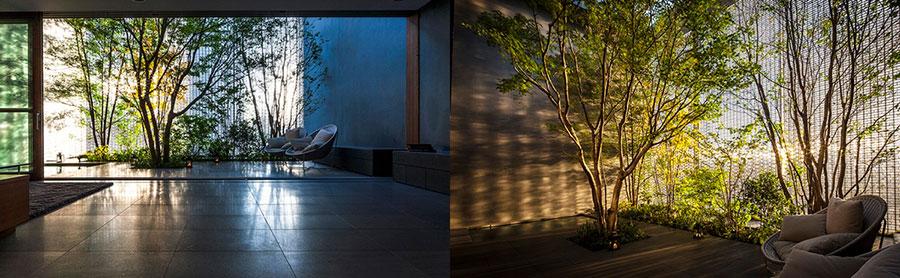 Casa arredata in stile zen
