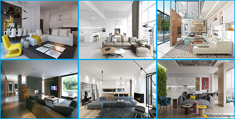 Come arredare un open space di 40 50 mq for Arredare loft open space