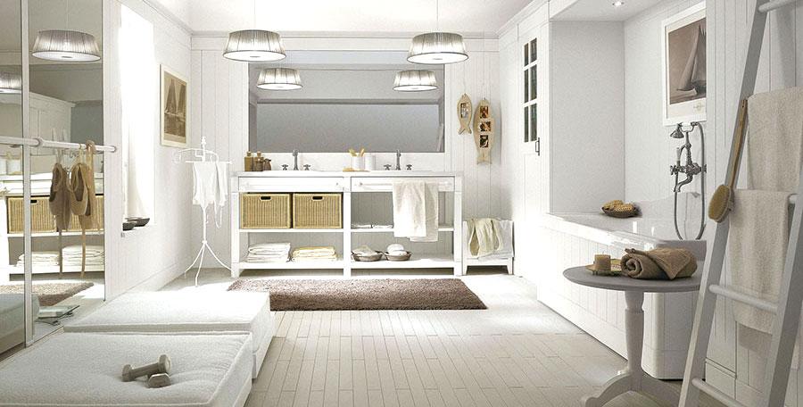 Mobili bagno classico bianco