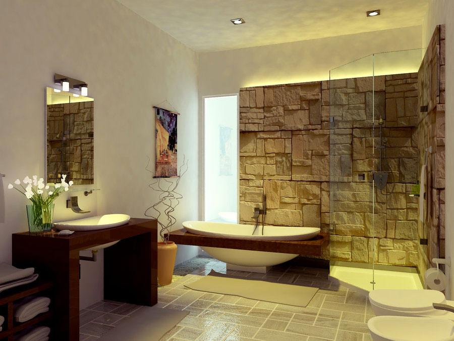 Idee su come arredare un bagno zen n.01