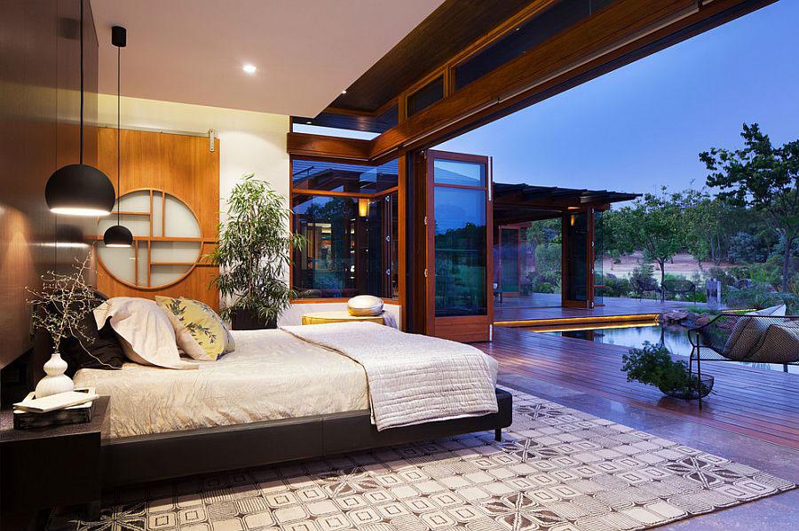 Idee su come arredare una camera da letto zen n.03