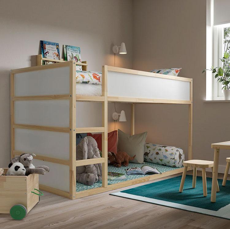 Modello di cameretta a soppalco di Ikea n.03