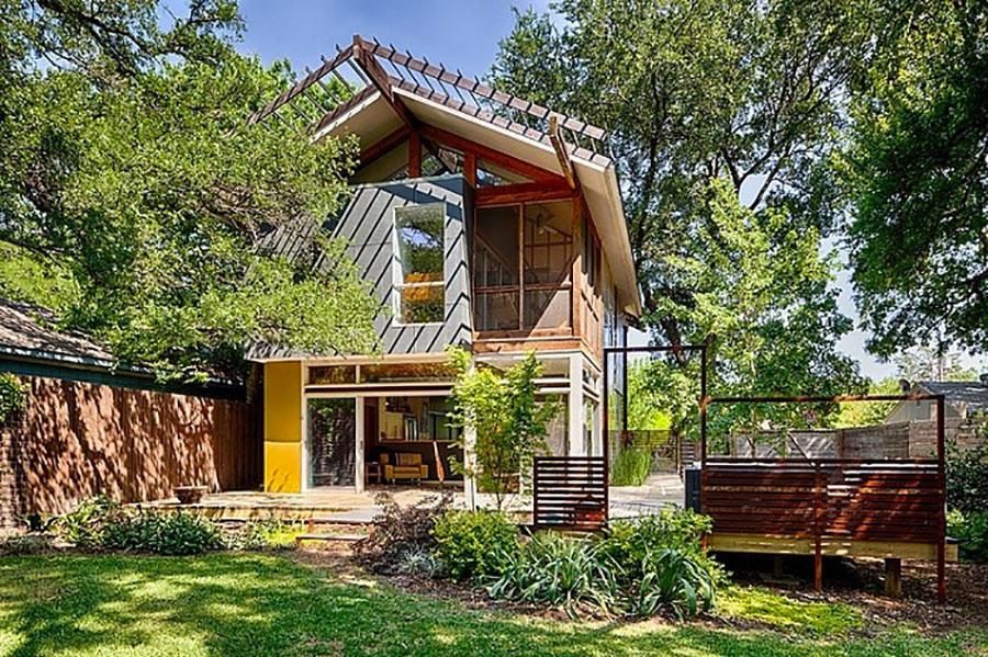 Casa prefabbricata in legno dei costruttori Nuove Architetture