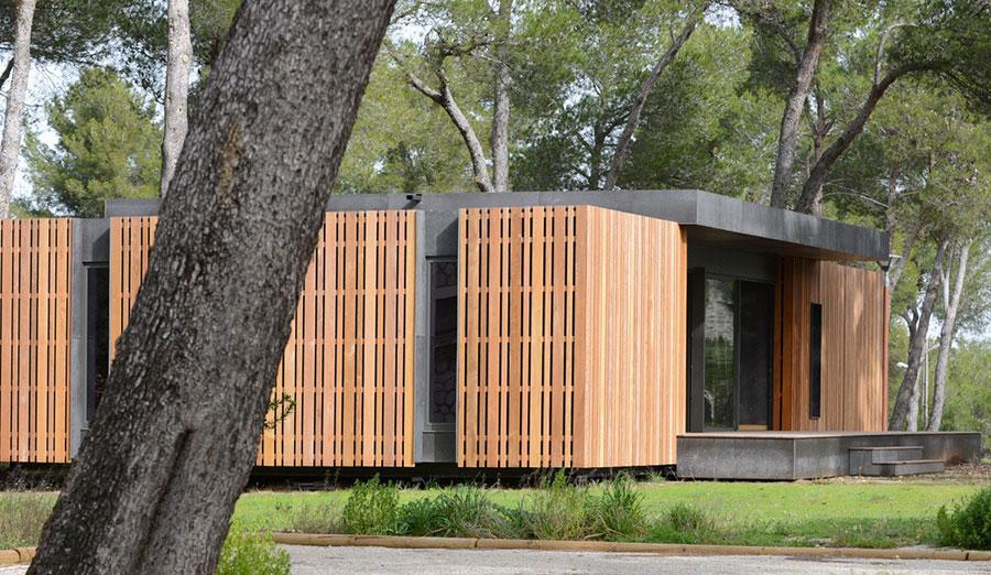 Casa prefabbricata in legno dei costruttori Pop-Up House