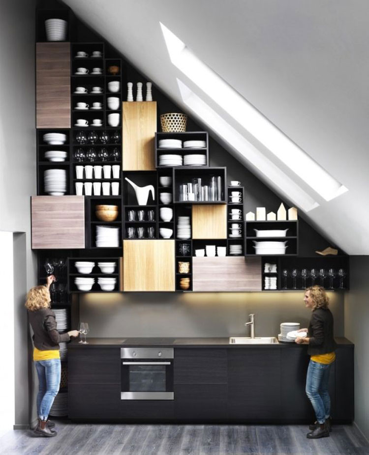 Idee per Arredare una Cucina in Mansarda | MondoDesign.it