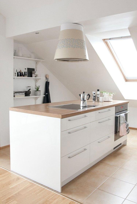 Idee per arredare una cucina in mansarda n.11