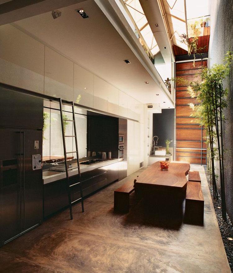 Idee su come arredare una cucina zen n.01