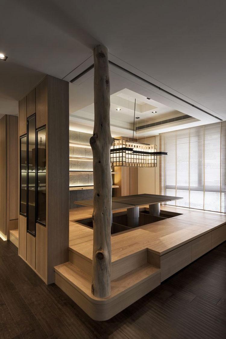 Idee su come arredare una cucina zen n.02