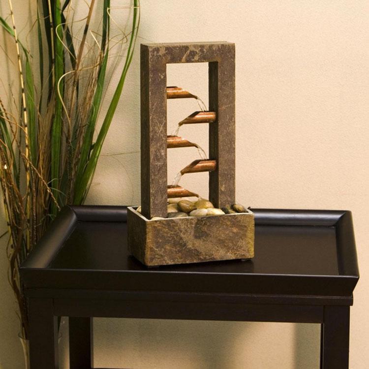 Come utilizzare le fontane nell'arredamento zen