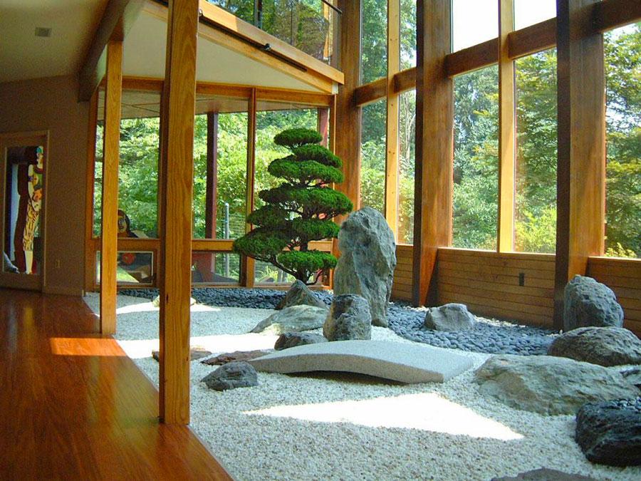 Come creare un giardino zen all'interno
