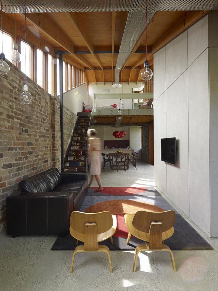 Idee per creare un open space con soppalco n.09