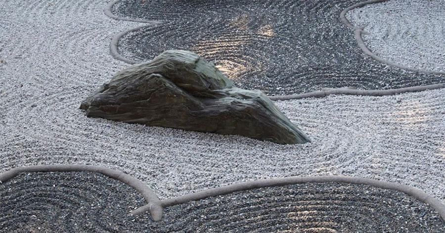 Giardino zen con pietraKikyaku
