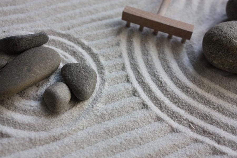Cosa simboleggia i giardino zen