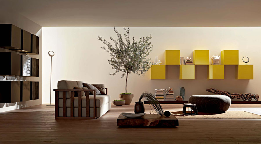 Idee su come arredare un soggiorno zen n.03