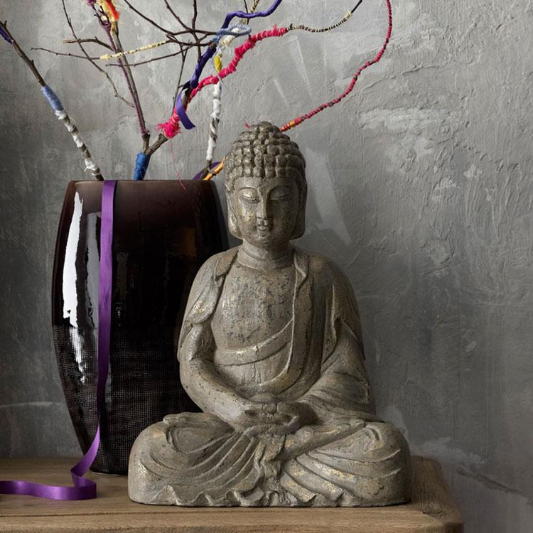 Come utilizzare le statue nell'arredamento zen