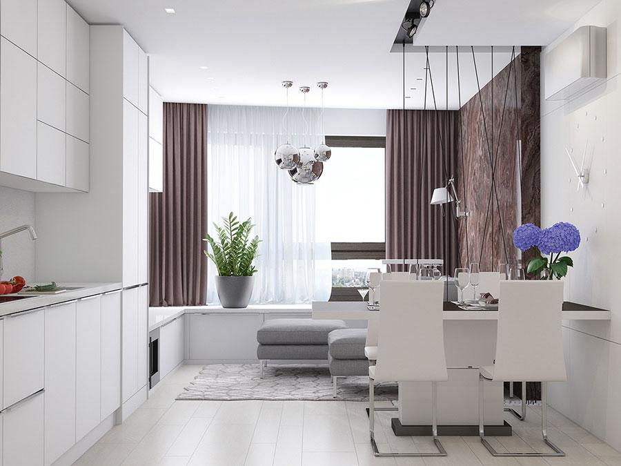 Come arredare una casa di 90 mq ecco 5 progetti di design for Progetti case interni