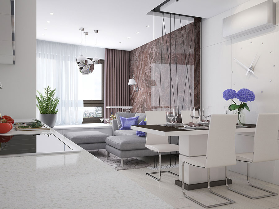 Come arredare una casa di 90 mq ecco 5 progetti di design - Idee per arredare una casa ...