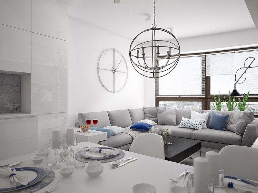 Come arredare una casa di 90 mq ecco 5 progetti di design for Arredare 15 mq