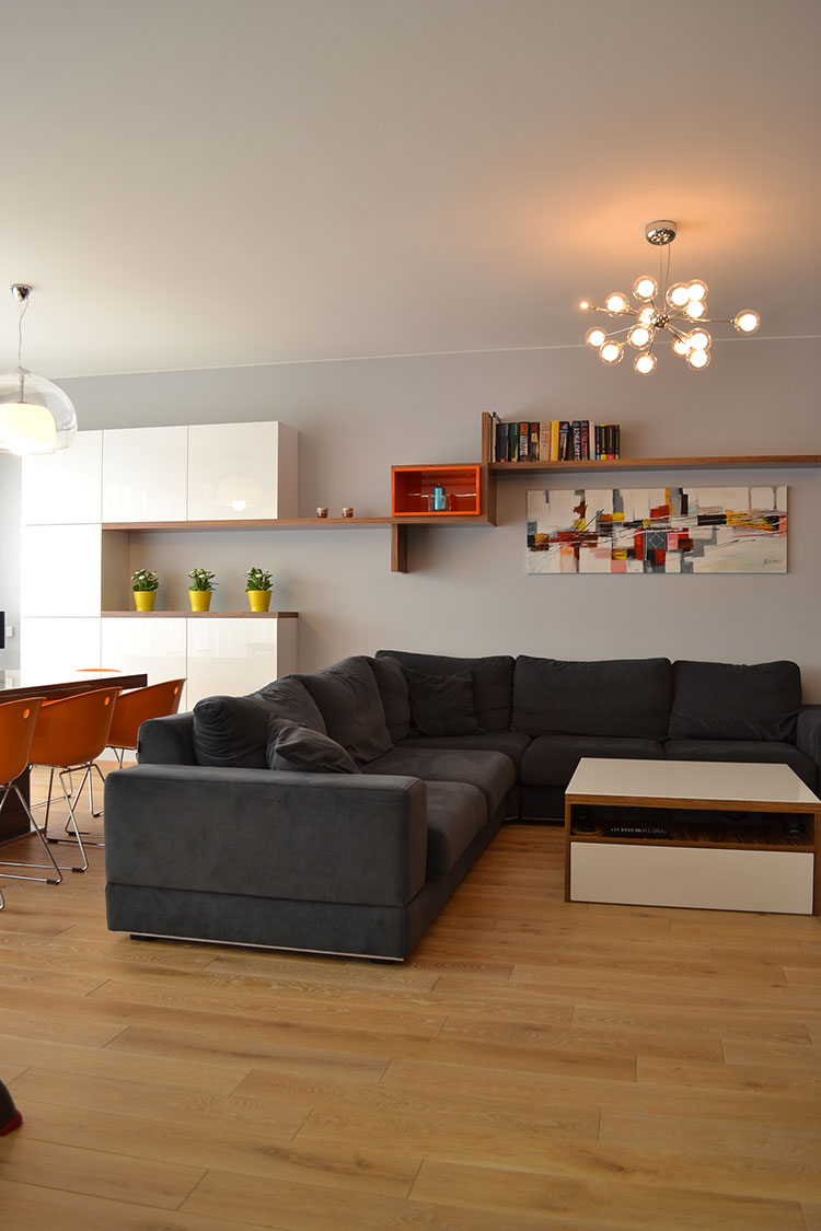 Come arredare una casa di 90 mq ecco 5 progetti di design for Arredare 60 mq
