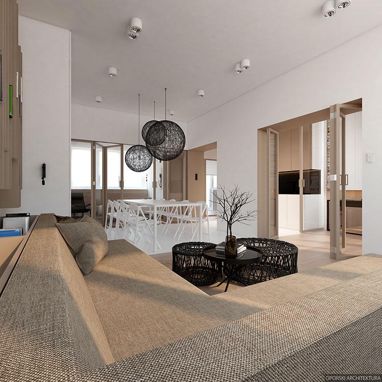 Idee per arredare una casa di 80 mq n.06