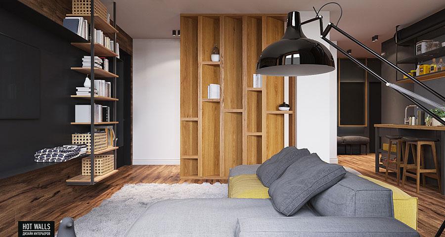Come arredare una casa di 80 mq ecco 6 progetti moderni e for Arredare 15 mq