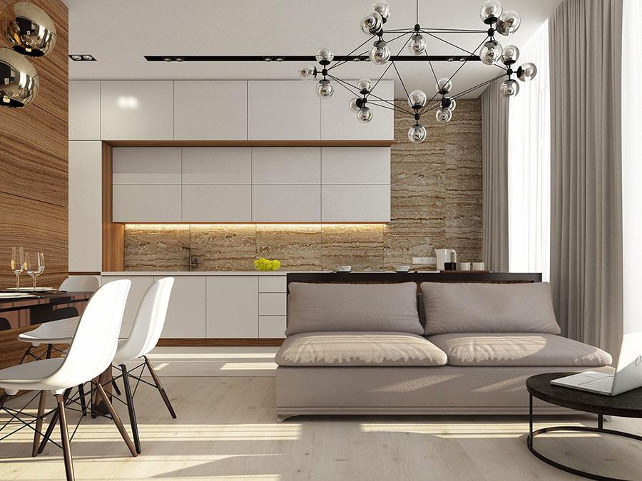 Come arredare una casa di 80 mq ecco 6 progetti moderni e for Progetto arredo casa on line