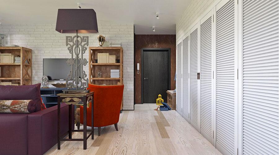 Come arredare una casa di 80 mq ecco 6 progetti moderni e - Arredamento casa 2017 ...