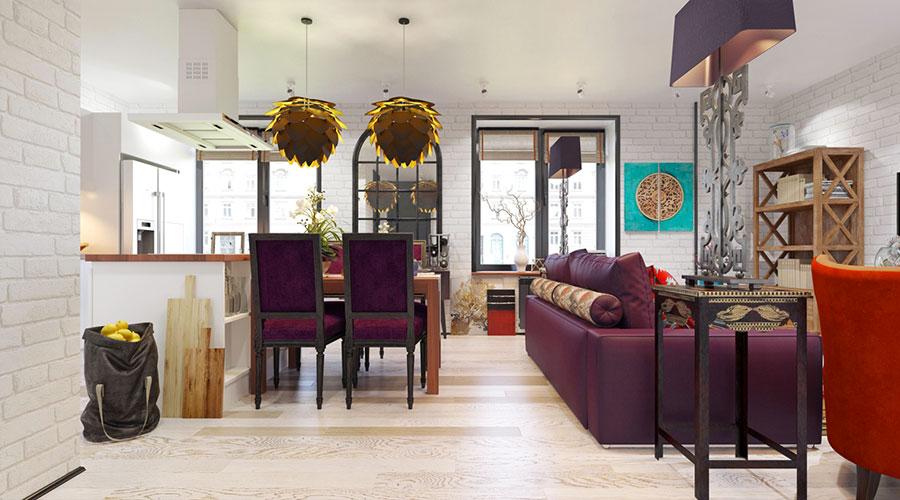 Come arredare una casa di 80 mq ecco 6 progetti moderni e for Arredamento casa per disabili