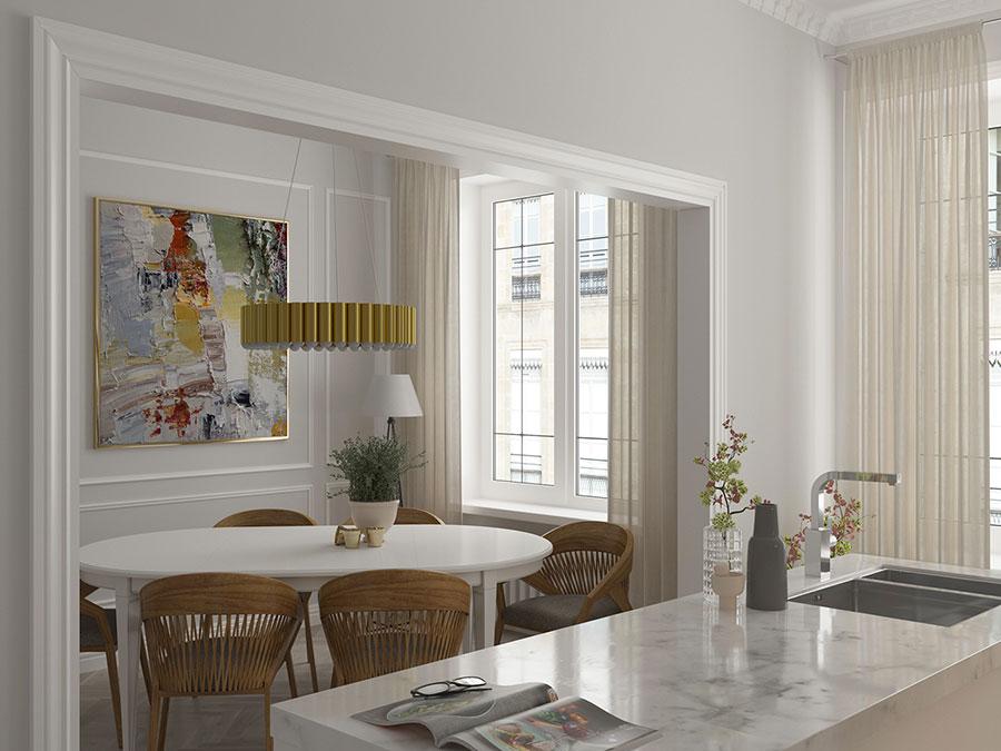Come arredare una casa di 80 mq ecco 6 progetti moderni e - Bagno 4 mq arredo ...