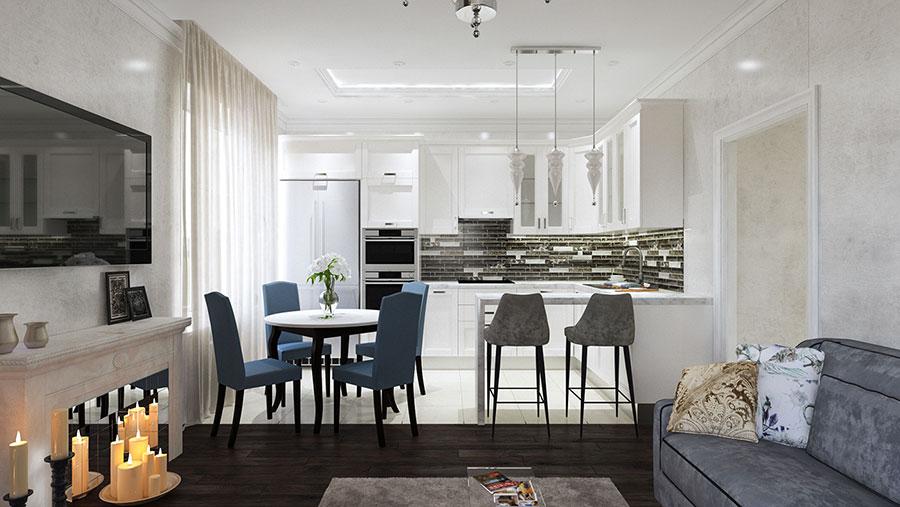 Idee per arredare una casa di mq n with progetto casa 80 mq - Progetto casa 80 mq ...