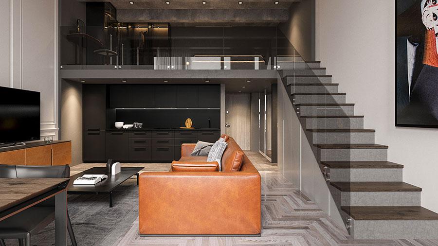 Arredare loft con soppalco idee e progetti dal design for Progetto di casa loft