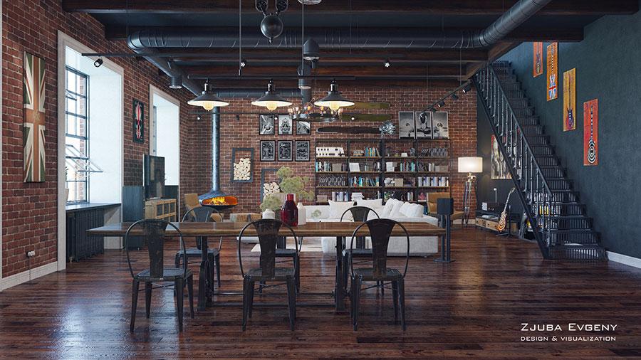 Arredare loft con soppalco idee e progetti dal design for Progettare un interno