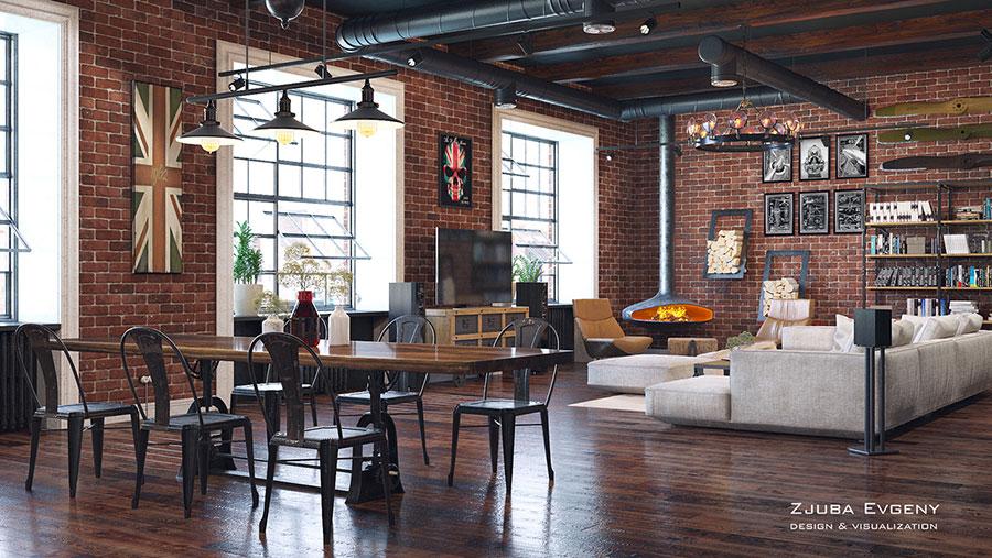 Arredare loft con soppalco idee e progetti dal design for Loft arredamento